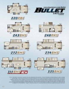 2016 Keystone Rv Bullet Eastern Edition Brochure page 10