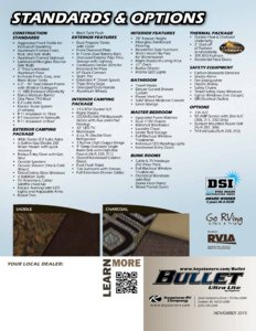 2016 Keystone Rv Bullet Eastern Edition Brochure page 12