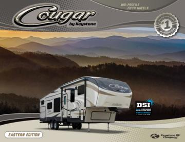 2016 Keystone Rv Cougar Eastern Edition Brochure
