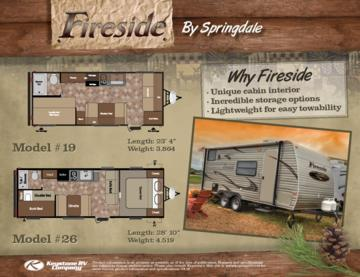 2016 Keystone RV Fireside Brochure