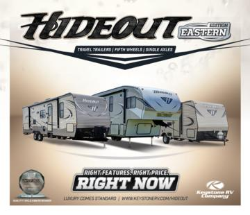 2016 Keystone Rv Hideout Eastern Edition Brochure