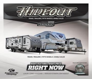 2016 Keystone RV Hideout West Brochure