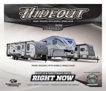 2016 Keystone RV Hideout West Brochure page 1