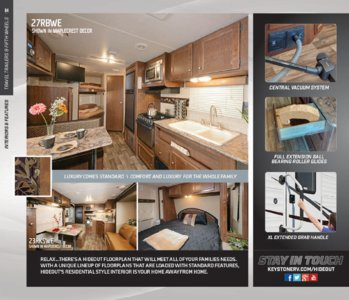 2016 Keystone RV Hideout West Brochure page 4