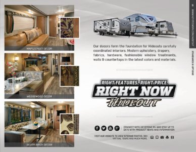 2016 Keystone RV Hideout West Brochure page 15