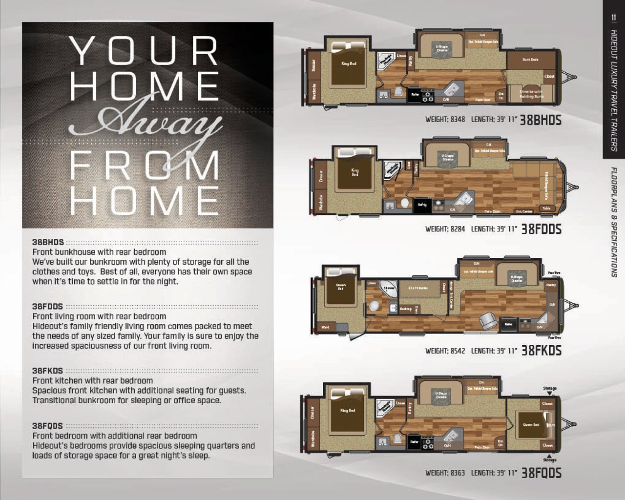 100 Fifth Wheel Floor Plans Front Living Room Fifth Wh.Camper Floor ...