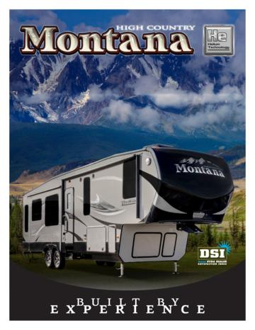 2016 Keystone RV Montana High Country Brochure