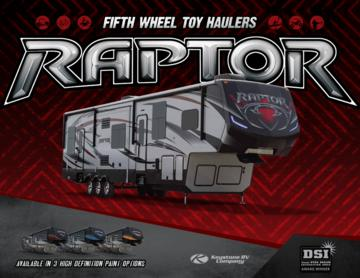 2016 Keystone RV Raptor Brochure