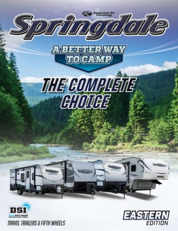 2016 Keystone Rv Springdale Eastern Edition Brochure