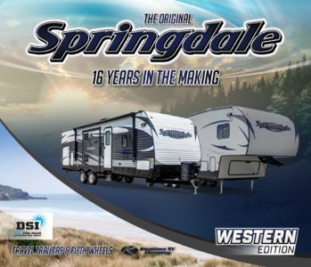 2016 Keystone RV Springdale West Brochure page 1