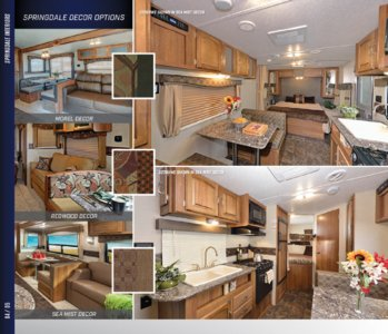 2016 Keystone RV Springdale West Brochure page 4