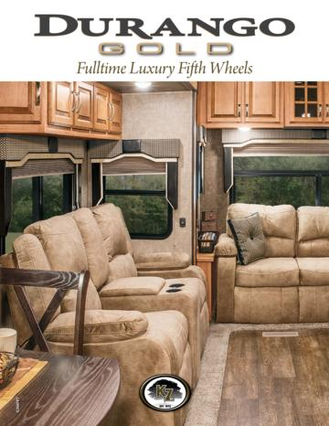 2016 KZ RV Durango Gold Brochure