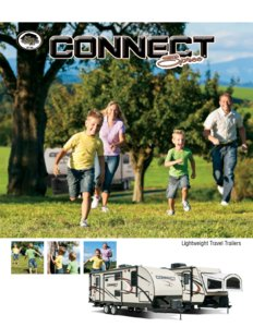 2016 KZ RV Spree Connect Brochure page 1
