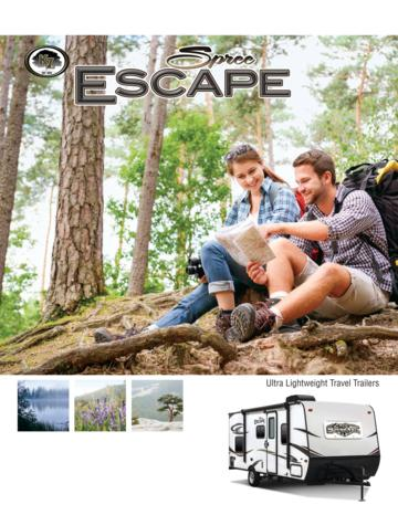 2016 KZ RV Spree Escape Brochure