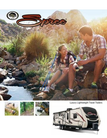 2016 KZ RV Spree Brochure