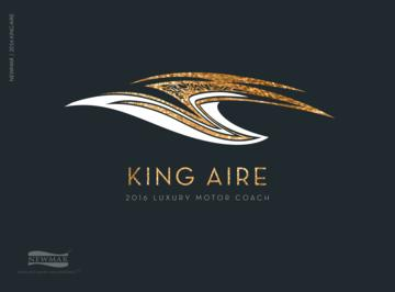 2016 Newmar King Aire Brochure