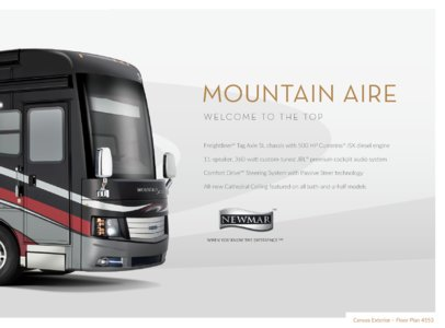 2016 Newmar Mountain Aire Brochure page 3