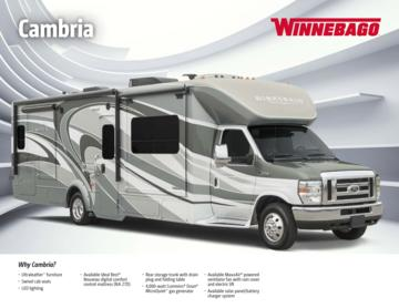 2016 Winnebago Cambria Brochure