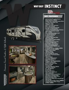 2016 Winnebago Instinct Brochure page 1
