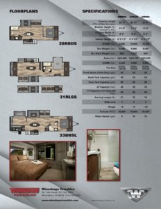 2016 Winnebago Instinct Brochure page 2