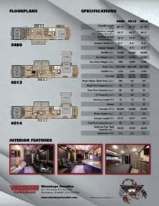 2016 Winnebago Scorpion Brochure page 2