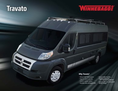 2016 Winnebago Travato Brochure page 1