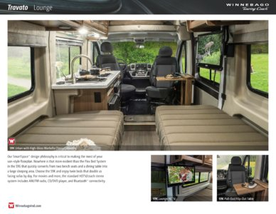 2016 Winnebago Travato Brochure page 3