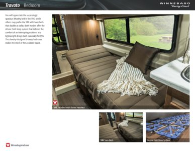 2016 Winnebago Travato Brochure page 6