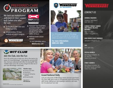 2016 Winnebago Travato Brochure page 20
