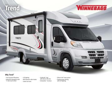 2016 Winnebago Trend Brochure