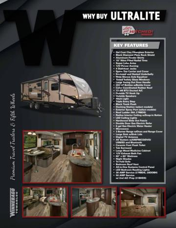 2016 Winnebago Ultralite Brochure