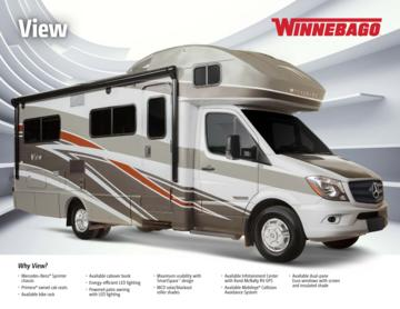 2016 Winnebago View Brochure
