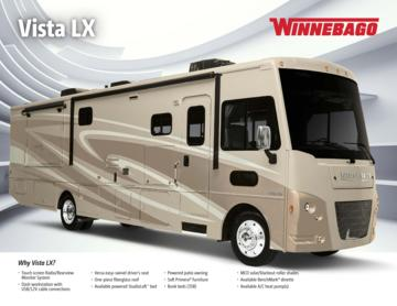 2016 Winnebago Vista LX Brochure