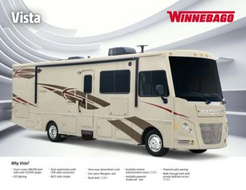 2016 Winnebago Vista Brochure