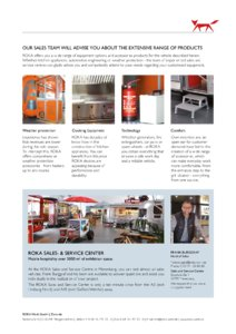 2017 Airstream Diner Dining Room Europe Brochure page 4