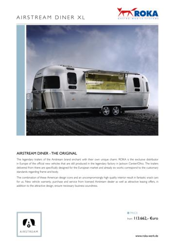 View Airstream Brochures | Download RV brochures