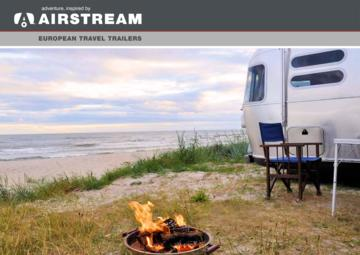 2017 Airstream European Travel Trailers French Brochure