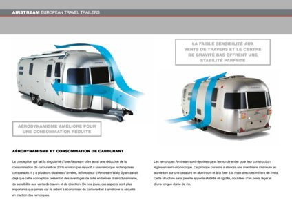 2017 Airstream European Travel Trailers French Brochure page 8
