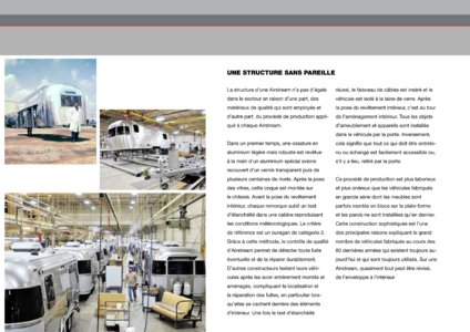 2017 Airstream European Travel Trailers French Brochure page 9