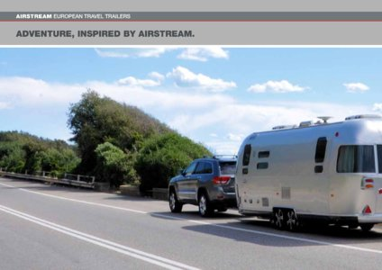2017 Airstream European Travel Trailers French Brochure page 10