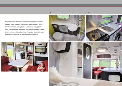 2017 Airstream European Travel Trailers French Brochure page 15