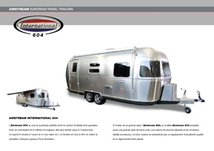 2017 Airstream European Travel Trailers French Brochure page 16