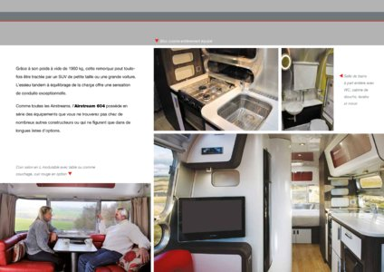 2017 Airstream European Travel Trailers French Brochure page 17