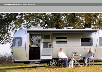 2017 Airstream European Travel Trailers French Brochure page 18