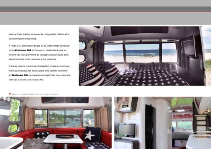 2017 Airstream European Travel Trailers French Brochure page 21