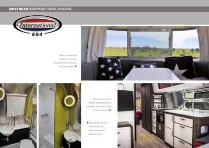 2017 Airstream European Travel Trailers French Brochure page 22