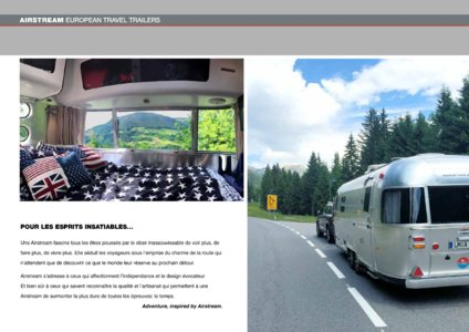 2017 Airstream European Travel Trailers French Brochure page 24