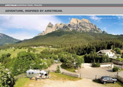 2017 Airstream European Travel Trailers French Brochure page 26