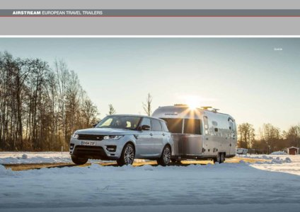 2017 Airstream European Travel Trailers French Brochure page 30