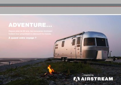 2017 Airstream European Travel Trailers French Brochure page 31